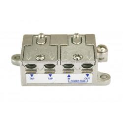 Distribuidor Antena Coaxial 1 Ent/4 Sal 8db Zinc Electro Dh
