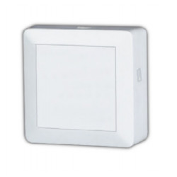 Caja Distribuidor Antena Coaxial 1 Ent/2 Sal 4,0db Pl Bl Ele