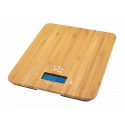 Balanza Coc Electr. 15kg Bambú 720 Jata Hogar