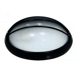 Aplique Ilumin Oval Ext E27 32x20,5x12,5cm Alu Ne Demetra Ch