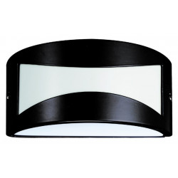 Aplique Ilumin Rect Ext E27 25x13,5x12cm Alu Ne Medusa Chiar