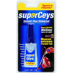 Adhesivo Instantaneo 20 Gr Univ Superceys Ceys