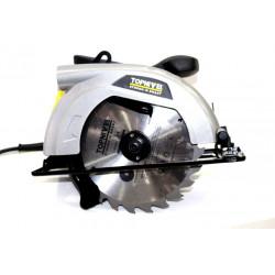 Sierra Circular Corte 65mm Bric 1200w Dis185 Nivel