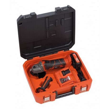 Amoladora Bric 115mm 20v/40v Bat20v+cargador Powerplus