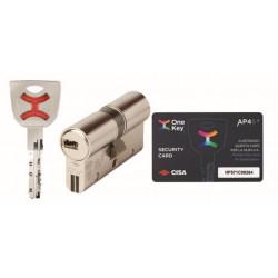 Cilindro Seg 30x30mm Ap4 S Niq Cisa