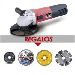 Amoladora Prof 115mm 900w Sab 900cr+tuerca+10d+2dd Stayer