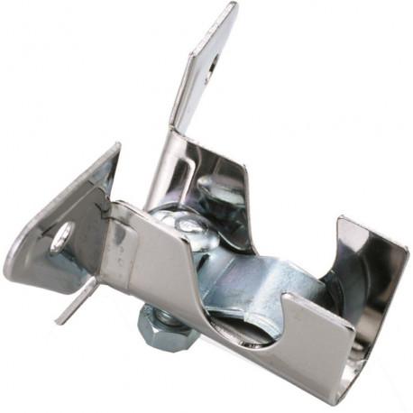 Soporte Barra Cort 12mm Techo Acero Cinc N2 Micel