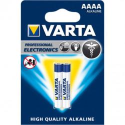 Pila Alcalina Lr61 Aaaa 1,5v High Quality Varta 2 Pz