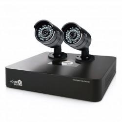 Sistema  Vig. Disco Duro 1tb 2 Camaras 720p Cableado 4 Canal