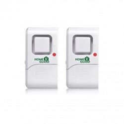 Detector  Vibracion Con Alarma Home Guard