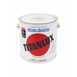 Esmalte Acril Sat. 2,5 Lt Bl/pie Al Agua Ecologico Titanlux