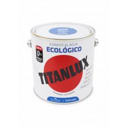 Esmalte Acril Sat. 2,5 Lt Az/lum Al Agua Ecologico Titanlux