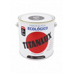 Esmalte Acril Sat. 2,5 Lt Taba Al Agua Ecologico Titanlux