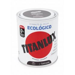 Esmalte Acril Sat. 750 Ml Taba Al Agua Ecologico Titanlux