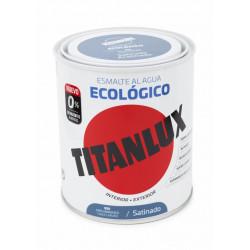 Esmalte Acril Sat. 750 Ml Gr/mgo Al Agua Ecologico Titanlux