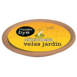 Vela Jard Citron. Flower Terrac Plato Grande 1-20554