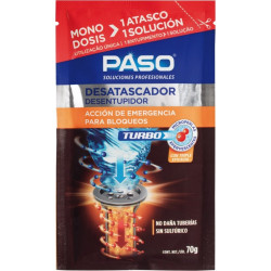 Desatascador Tuberias Quim Microperlas Monodosis Turbo Paso