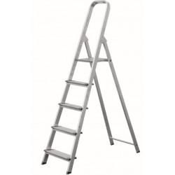 Escalera Dom Tijera 0,62mt 3 Peldaños Anch Alu Vivahogar