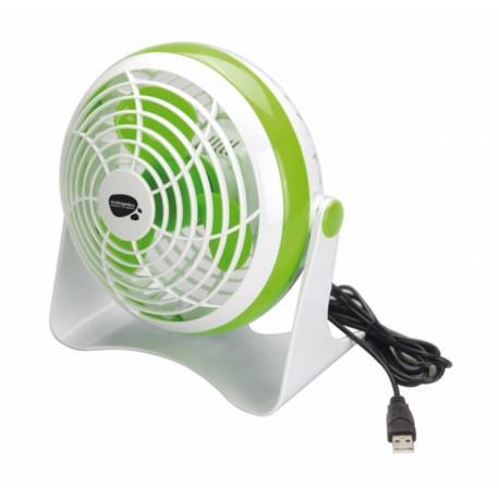 Ventilador Sobrem 15cm Usb Pl Bl/ve Vivah