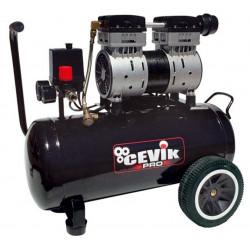Compresor Silencioso 40lt 2hp 8 Bar Pro40silent Cevik