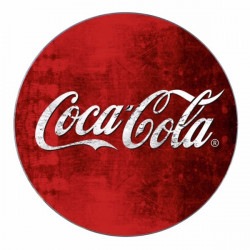 Salvamantel Mesa 20cm Vidrio Coca Cola Classic Wenko