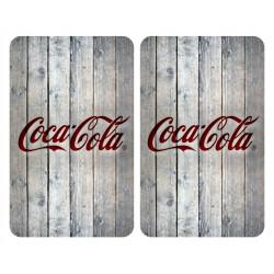 Tabla Coc Prot 30x52cm Vitroc Vidrio Coca Cola Wood Wenko 2