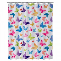 Cortina Baño 180x200cm Polie Fly Color Unimasa