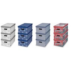 Caja Orden Multi 29x52x20cm Carton Surt Domopak Living 3 Pz
