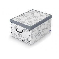 Caja Orden Multi 39x50x24cm Con Asa Carton Bon Ton Domopak L