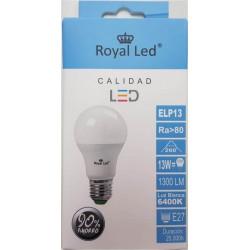 Lampara Ilumin Led Estan E27 13w 1300lm 6400k Royal Led