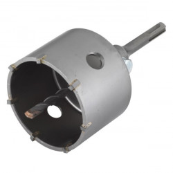 Corona Perfor. Hormigon 6 Dientes Ø083mm/46mm Sds Plus Wolfc