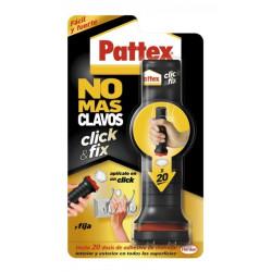 Adhesivo Montaje 30gr-20dosis No Mas Clavos Click&fix Pattex