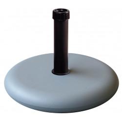 Pie Parasol Cemento Redondo 25kg
