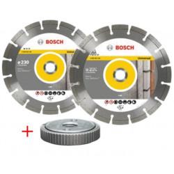 Disco Corte G.obra Segment 230mm Tue.amol Diam Bosch 2 Pz