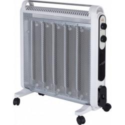 Radiador Elec Mica 1200/2000w Bl Micathermic 5 Placas Jata