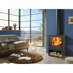 Estufa Leña Ecodesign 810x563x396mm Ne Saphir Panad