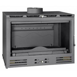 Cassette Leña-car Enc 795x642x512mm 12,6kw Tj