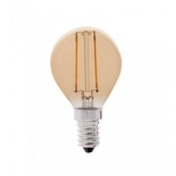 Lampara Ilumin Led Esf. Filamento E14 4w 350lm 2200k Vintage
