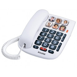 Telefono Sobremesa Teclas Grandes Senior Tmax10 Alcatel