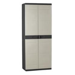 Armario Orden 70x44x176cm 4b Neg/bei Res Titanium Plastiken - 123140