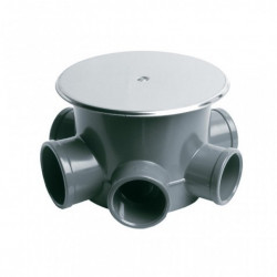 Bote Sifonico 110x40x50mm Pvc Gr S-153 Jimten