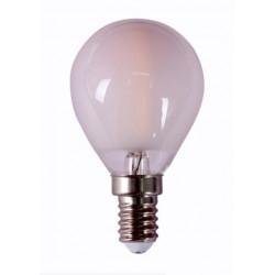 Lampara Ilumin Led Esf. Filamento E14 4w 450lm 2700k Mate Rs