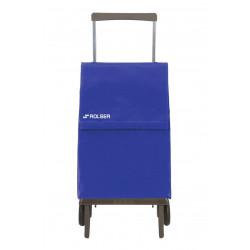 Carro Compra 2r Plegable 40lt Mod Mf Plegamatic Origina Azul