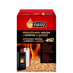 Deshollinador Estufa Caldera Pellet 1,5kg Ok Fuego