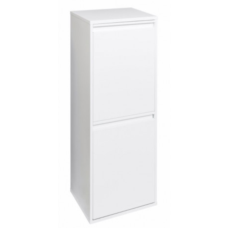 Cubo Bas. Recicl. 905x305x245mm Acero Bl Basic 2 Arregui