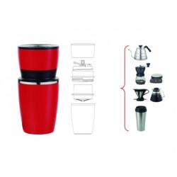 Termo Cafetera Inox Ro 4 En 1 Silicone
