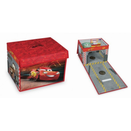 Caja Orden 31x41x28cm Pp/carton Casa Juegos Cars Domopak Liv