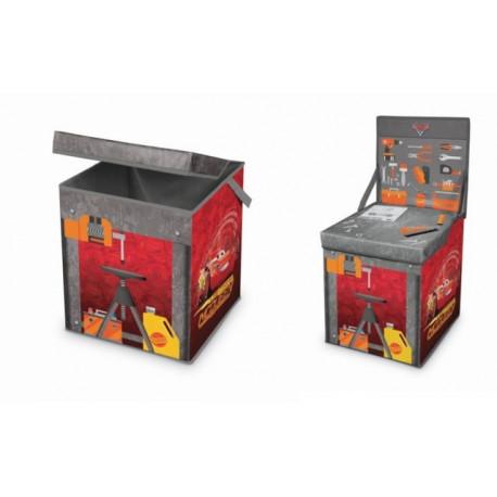 Caja Orden 31x41x28cm Pp/carton Mesa Juegos Cars Domopak Liv