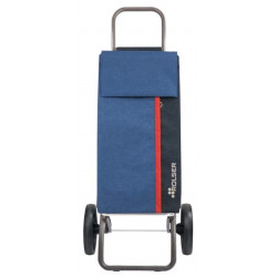 Carro Compra 2r Grandes 40lt B/s Az Kangaroo Tweed Logic Rsg