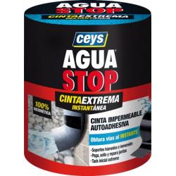 Cinta Adh 100mmx1,5mt Fuga/grie Impermeable Ne Aguastop Ceys